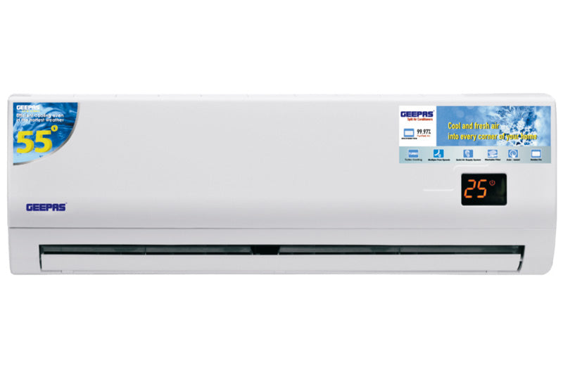 GEEPAS Split AC 1.5Ton/18kBTU/Rotary/T3Comp Air Conditioner ( Gacs18025cu ) - 2071MALL