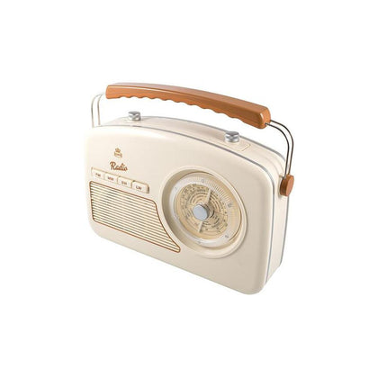 GPO Retro - Rydell Four Band Radio Player - Cream,GPO-RYDELL-CREAM - 2071MALL