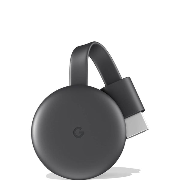 Google Chromecast 3 Media Streaming Device - 2000+ Andriod & iPhone Apps (US Version) - Charcoal, GA00439-US - 2071MALL