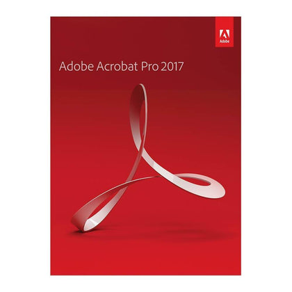 Adobe Acrobat Pro 2017 Activation Serial Number For 1 MAC - English Red - Digital Code Only - 2071MALL