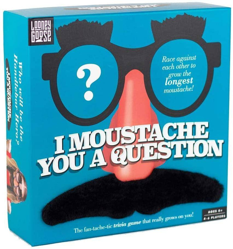 Professor Puzzle - I Moustache You A Question Party Game/Game Of Trivia, PP-LG4256 - 2071MALL