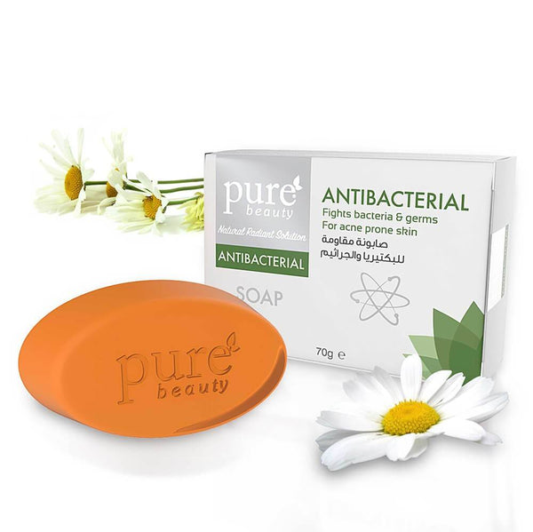 Pure Beauty - Antibacterial Glycerin Soap 70g