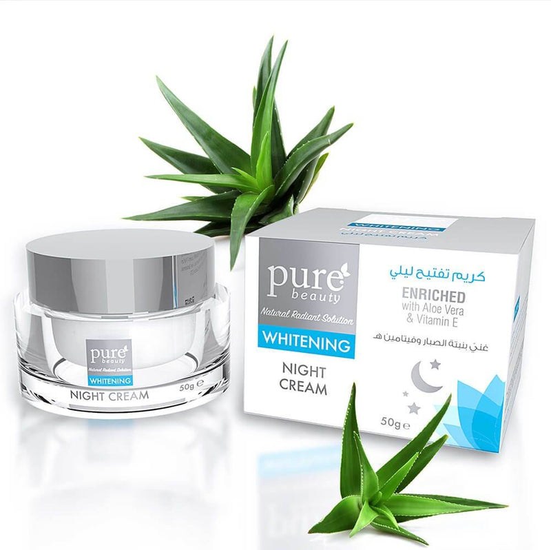 Pure Beauty - Whitening Night Cream 50g - 2071MALL