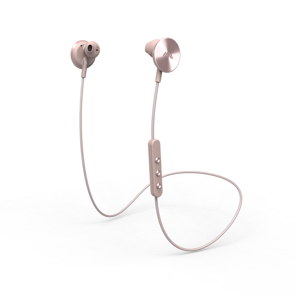 i.am+ - Buttons Bluetooth Wireless Headphones - Rose Gold,IAMEP2001RGRG - 2071MALL