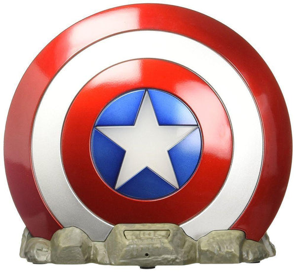 iHome - Kiddesigns Bluetooth Shield Speaker Marvel Captain America,IH-KD-VI-B72CA - 2071MALL