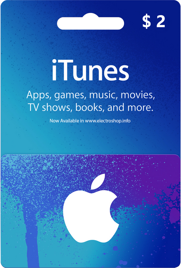 iTunes US - Receive your code instantly (Prepaid Only) - 2071MALL