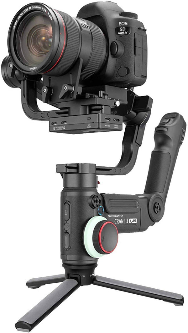 Zhiyun Crane 3 Lab, 3-axis Handheld Gimbal DSLR Camera Stabilizer - Black, crane3 - 2071MALL
