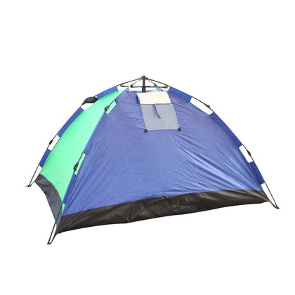 Royalford Season Tent 210x150x110 Cm - Portable UV/ Waterproof Camping Tent Ventilated Mesh Window Ideal for 2 -3 Person - 2071MALL