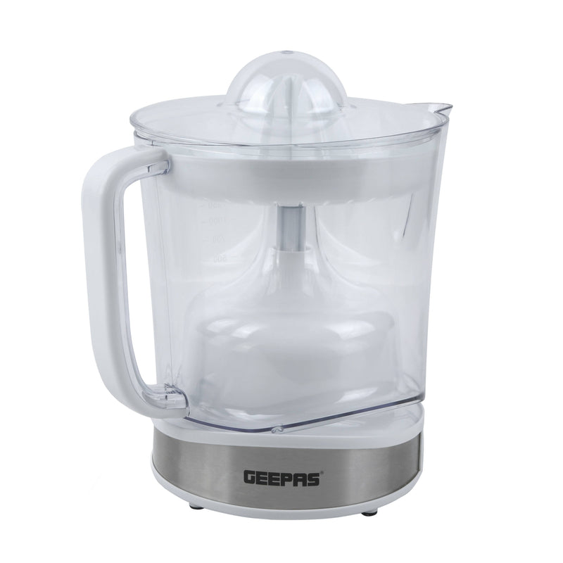 Geepas Super Power Citrus Juicer With Pulse Switch Control 1.5L 100W1x6 - White,GCJ5430 - 2071MALL