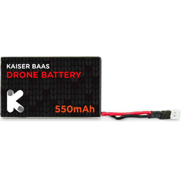 Kaiser Baas Alpha Drone Rechargeable Replacement Battery Pack 550 mAh Lithium-Ion, add on, Spare Battery On the Go for Longer Flight and Playing Time - Compatible with Kaiser Baas Alpha Drone - Black - 2071MALL