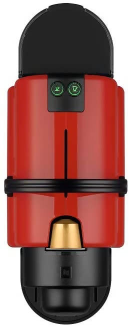NESPRESSO Inissia C40 Red Coffee Machine