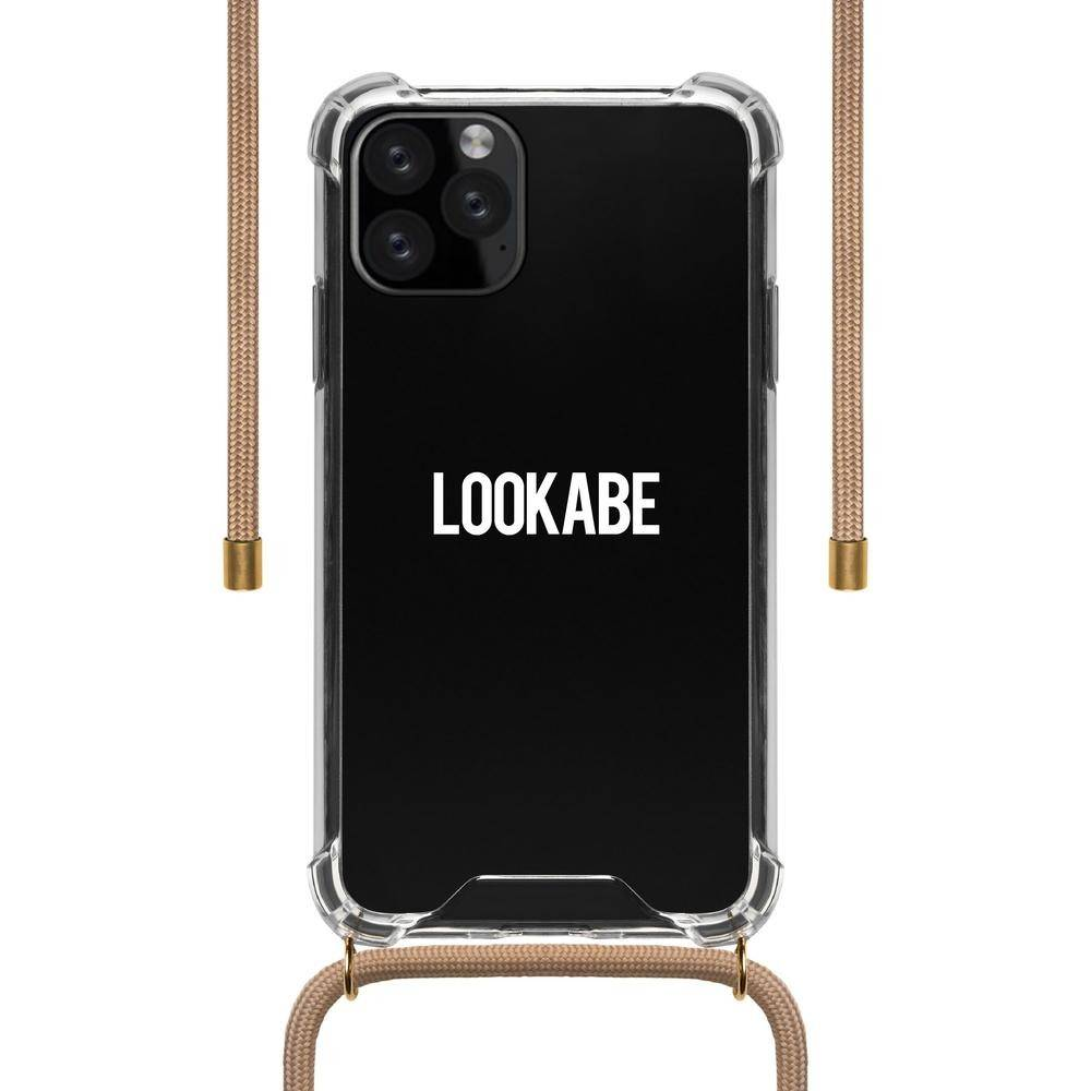 Lookabe - Necklace Clear Case + Nude Cord - iPhone 11 Pro Max LOO-031, LOO-031 - 2071MALL