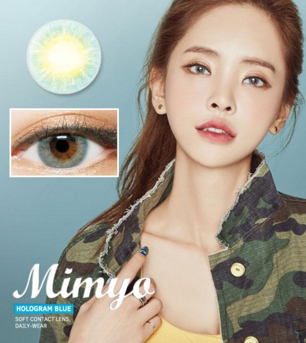[MIMYO] Hologram BLUE Contact Lenses (1pair/1month) - 2071MALL