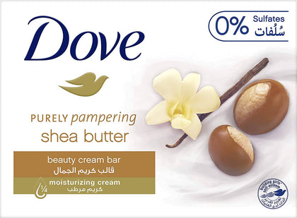 Dove Purely Pampering Beauty Cream Bar Shea Butter, 135g - 2071MALL