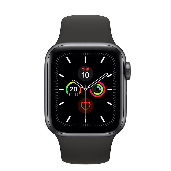 Apple Watch 5 ( Latest Apple Watch Series 5 ) GPS, 40mm Space Gray Aluminum Case with Sport Band - 2071MALL