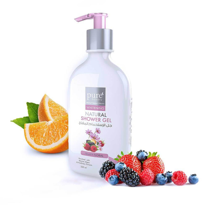 Pure Beauty - Whitening Natural Shower Gel 200ml - 2071MALL