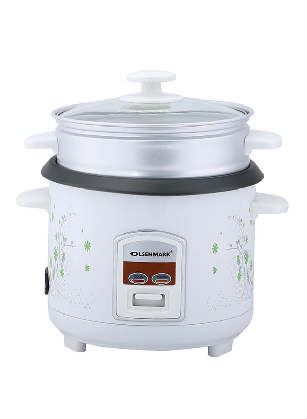 Olsenmark 3 In 1 Rice Cooker/Cook/Warm/Steam/1.0L/OMRC2250 - 2071MALL