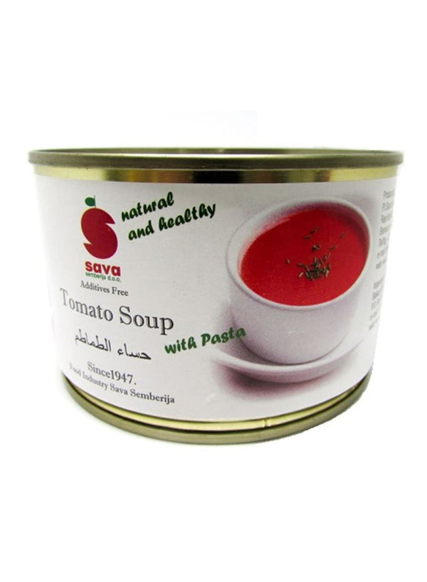 SAVA Tomato Soup With Pasta 425 grams - 2071MALL
