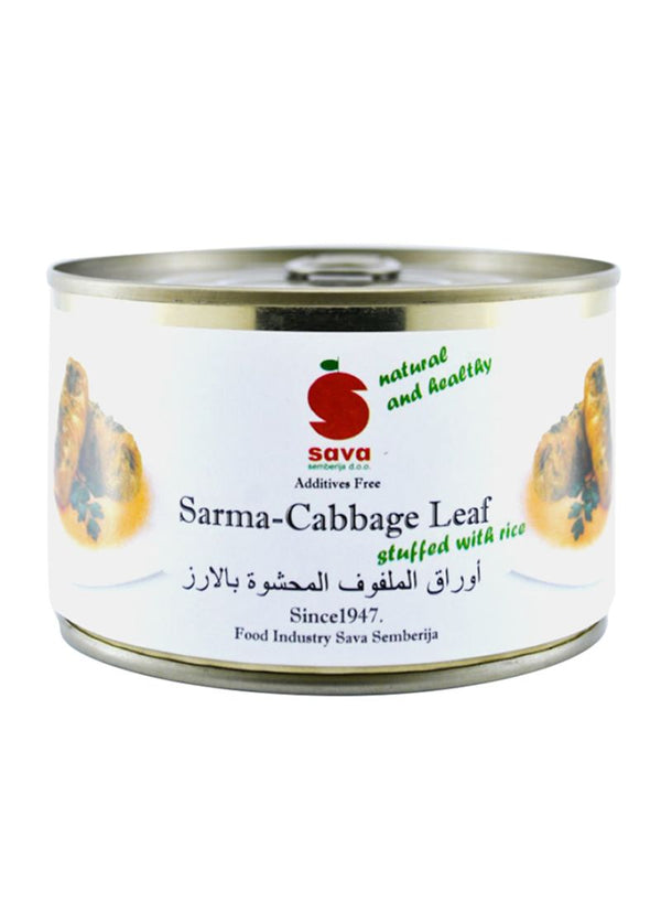 SAVA Sarma Cabbage Leaf Stuffed With Rice 425ml - 2071MALL