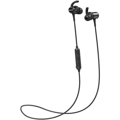 QCY M1C In-Ear Neck-Mounted Bluetooth Headphone (Black) - 2071MALL