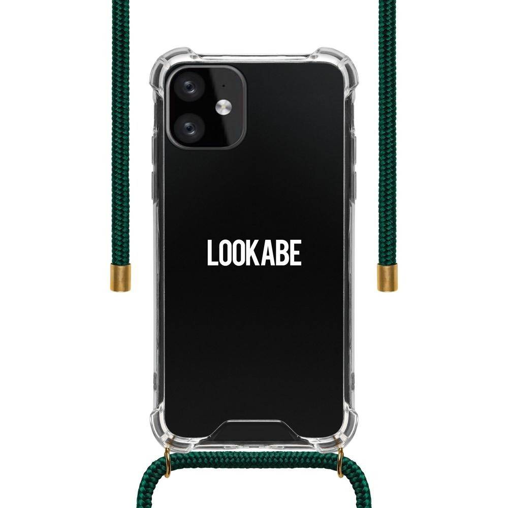 Lookabe - Necklace Clear Case + Green Cord - iPhone 11 LOO-033, LOO-033 - 2071MALL