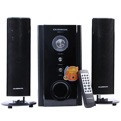 Olsenmark 2.1 Channel Home Theater With Usb/Sd/Fm/Mp3/Bt/OMMS1117 - 2071MALL