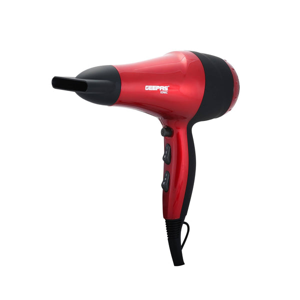 Geepas Hair Dryer 2Speed-3Heat Coolshot Ionic 1x12 - Red, GHD86018 - 2071MALL