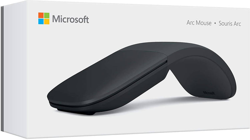 Microsoft ELG-00008 Wireless Arc Mouse New, Black