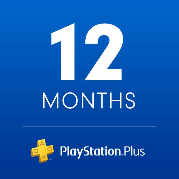 Playstation Plus UAE (12 Month Subscription) - Account details will be sent via email within 24 - 48 hours. Prepaid Only - 2071MALL