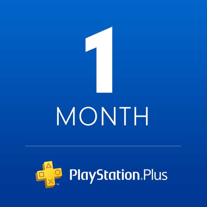 Playstation Plus UAE (1 Month Subscription)- Instant Delivery (Prepaid Only) - 2071MALL