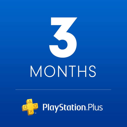 Playstation Plus UAE (3 Month Subscription)- Instant Delivery (Prepaid Only) - 2071MALL