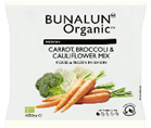 Bunalun Ireland Oraganic Mixed Vegetables 12 x 450 grams - 2071MALL