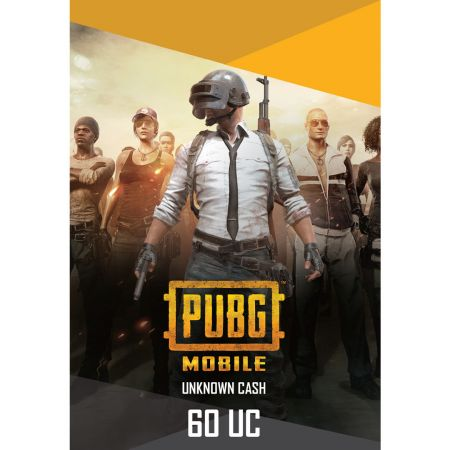 PUBG Mobile 60 UC US - Instant Delivery (Prepaid Only) - 2071MALL