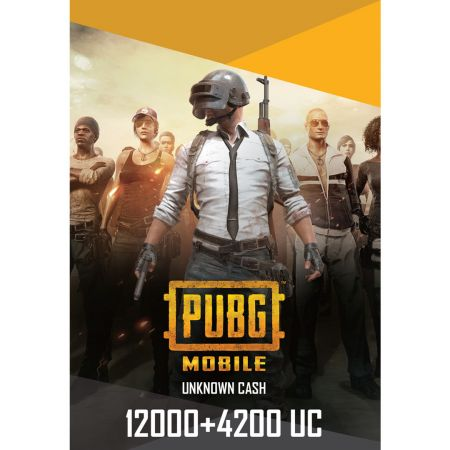 PUBG Mobile 12000+4200 UC US - Account details will be sent via email within 24 - 48 hours. Prepaid Only - 2071MALL