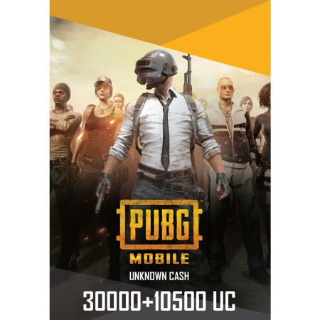PUBG Mobile 30000 + 10500 UC US - Account details will be sent via email within 24 - 48 hours. Prepaid Only - 2071MALL
