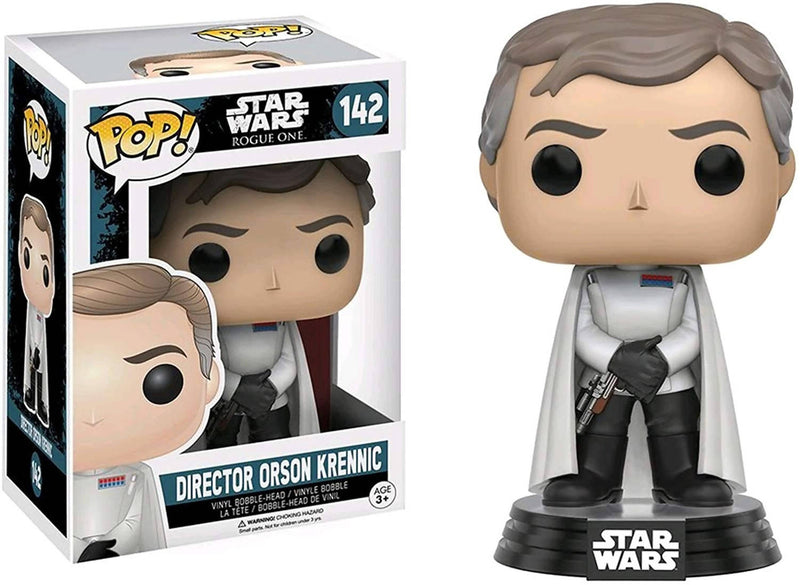 Funko Pop Sw Rogue One - Director Orson Krennic, Standard Black,Ivory - 2071MALL
