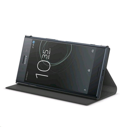Sony - Style Cover Stand For Xperia Xz Premium Black - Black, SONY-1307-2499 - 2071MALL