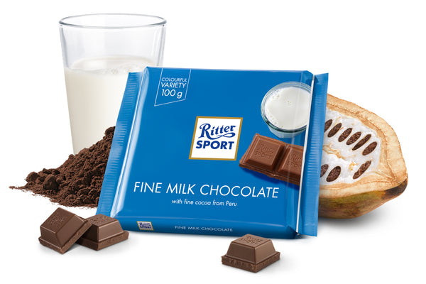 Ritter Sport Fine Milk Chocolate - 2071MALL