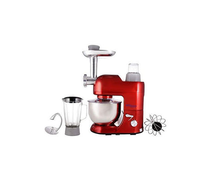 Super General Multi Function Stand Mixer, Red SG KF 1086 DR - 2071MALL