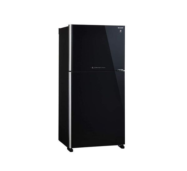 Sharp 2 Door Refrigerator Mega Freezer 650L -SJ-SMF650-BK3 - 2071MALL