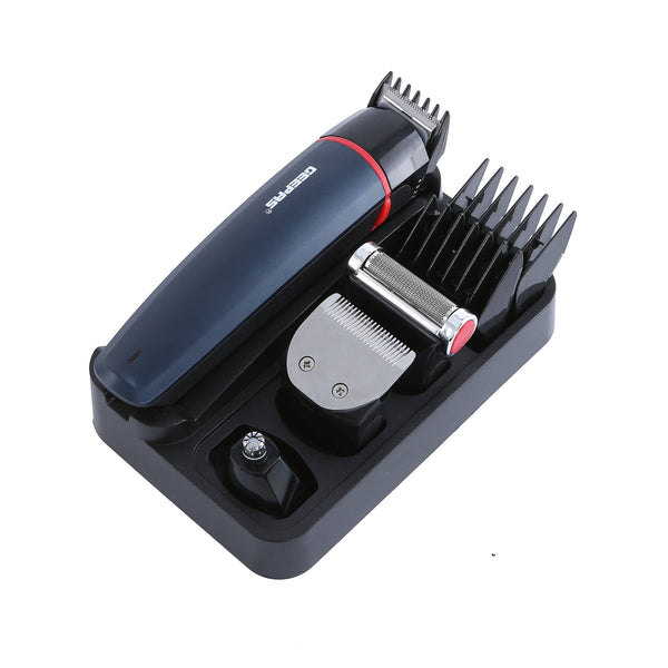 Geepas 6 In 1 Rechargeable Trimmer 1X12 - Black, GTR8128N - 2071MALL