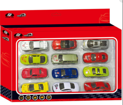 Power Joy V. Vroom Diecast Promo Pack, 12 In1 - 2071MALL
