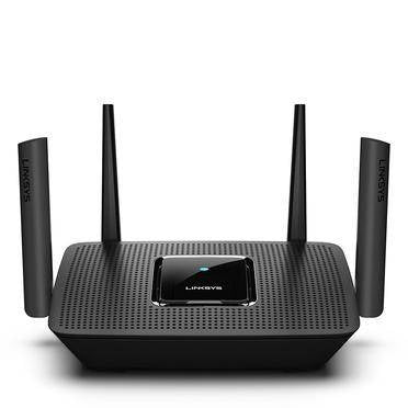 Linksys AC2200 Mesh MU-MIMO Max-Stream Tri-Band Wi-Fi Router -Black, LNK-MR8300-ME