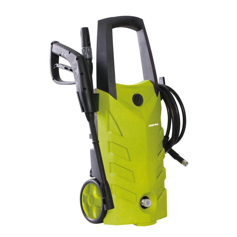 Geepas High Pressure Car Washer 5m Cable 3000W 1X1 - Yellow, GCW19013 - 2071MALL