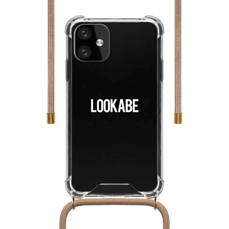 Lookabe - Necklace Clear Case + Nude Cord - iPhone 11 LOO-030, LOO-030 - 2071MALL