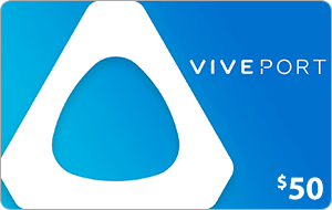 Viveport $50 US Dollar (USD) - Account details will be sent via email within 24 - 48 hours. Prepaid Only - 2071MALL