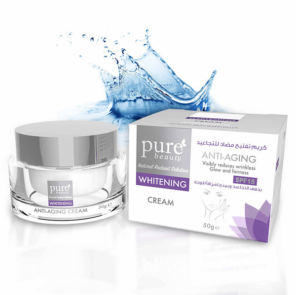 Pure Beauty - Whitening Anti Aging Facial Cream 50g