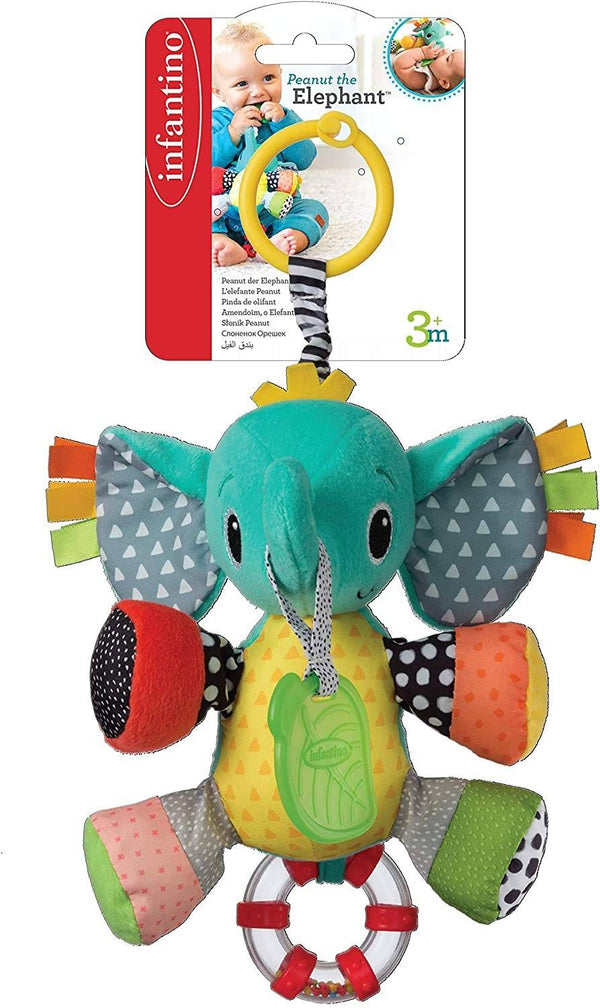 Infantino Peanut The Elephant Activity Pal Multicolor