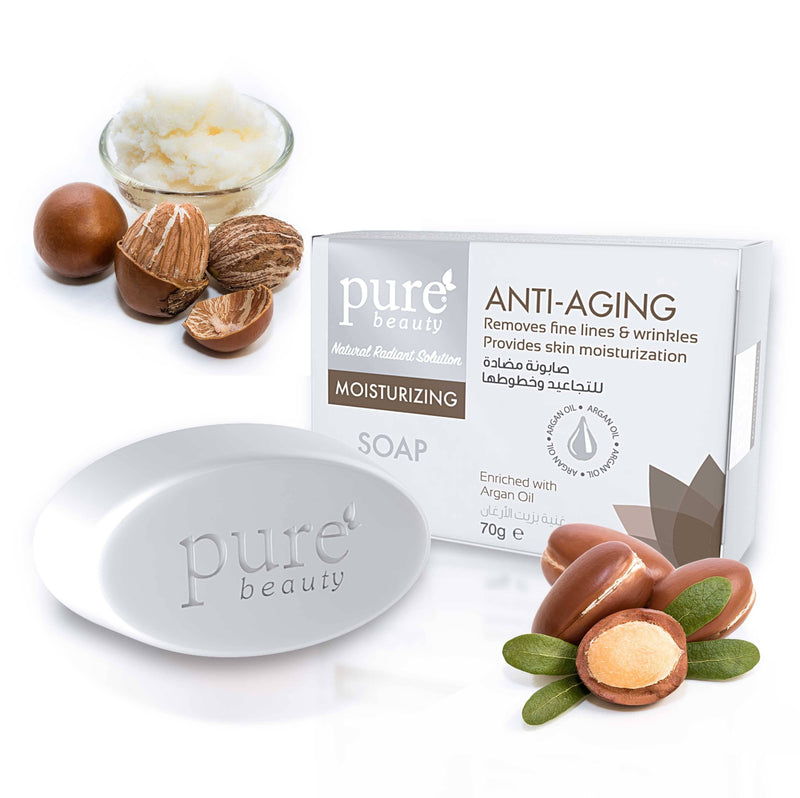 Pure Beauty - Moisturizing Glycerin Soap For Anti-Aging 70g - 2071MALL