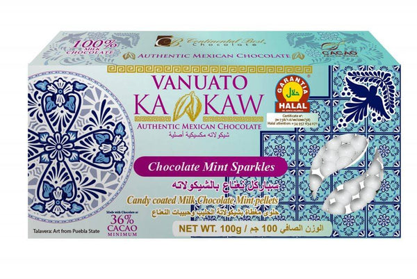Vanuato Kakaw Chocolate Mint Sparkles 100gm - 2071MALL